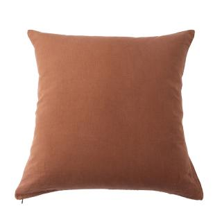 LINEN CUSHION COVER TERRACOTTA