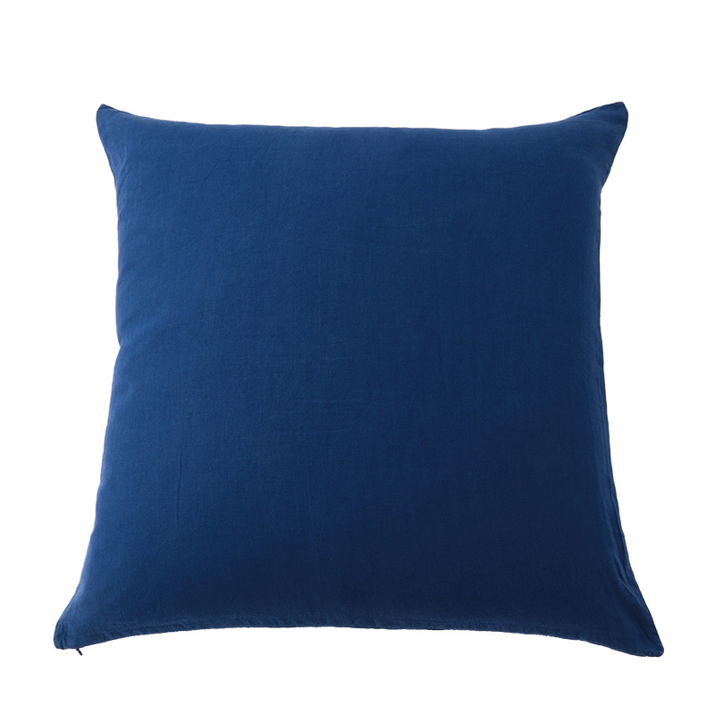 LINEN CUSHION COVER PROVENCE BLUE