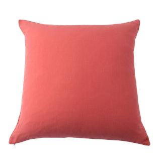 LINEN CUSHION COVER PINK