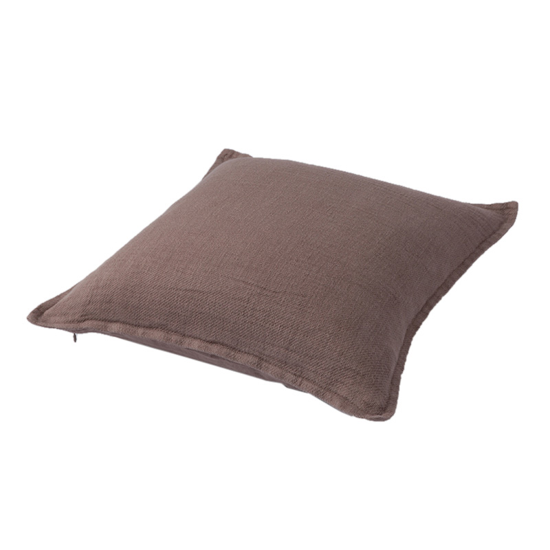 TWILL LINEN CUSHION COVER MOUSE