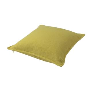 TWILL LINEN CUSHION COVER QUINCE