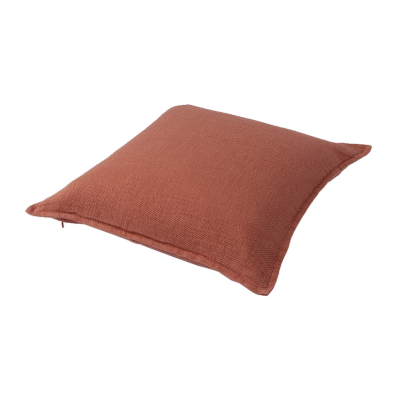 TWILL LINEN CUSHION COVER COPPER