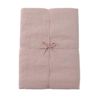 LINEN KING DUVET COVER SOFT PINK