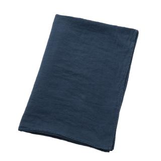 LINEN TABLE CLOTH INDIGO