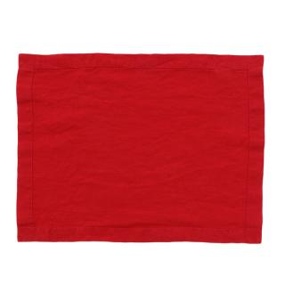 LINEN PLACEMAT RED