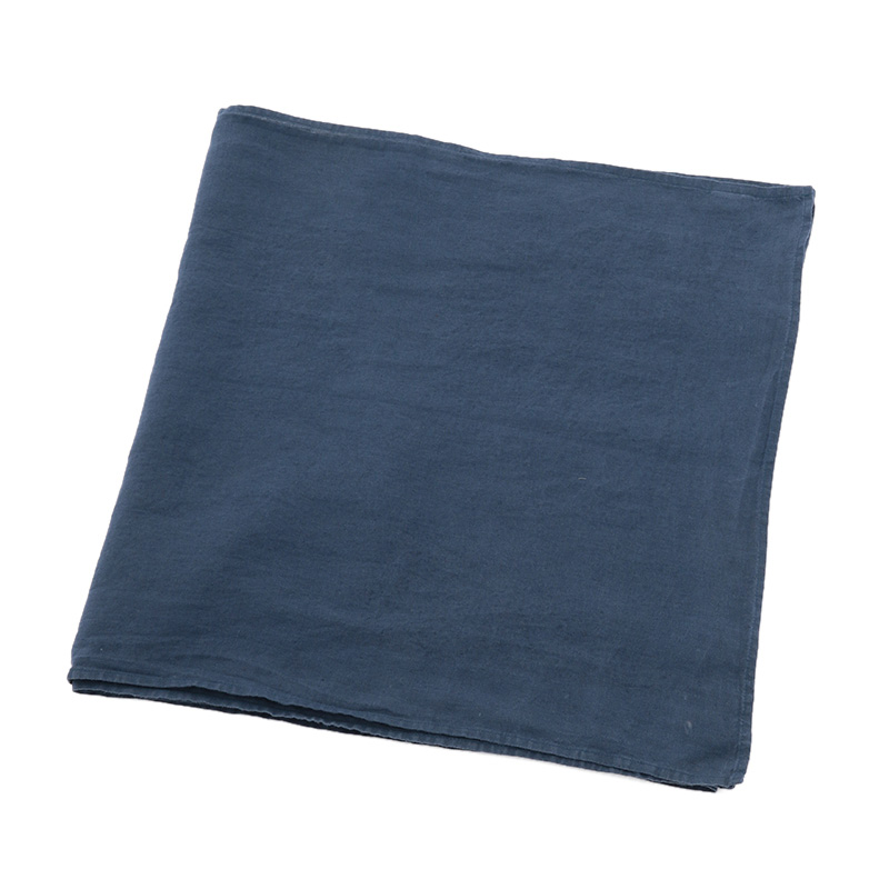 LINEN TABLE RUNNER INDIGO