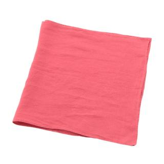LINEN TABLE RUNNER CORAL
