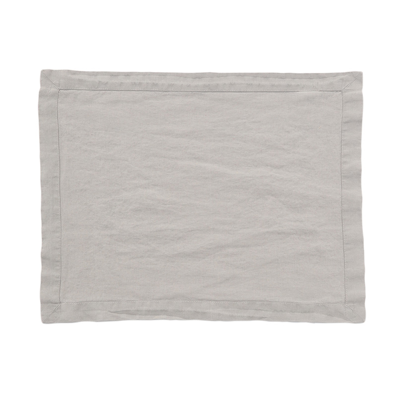 LINEN PLACEMAT BLUE GREY
