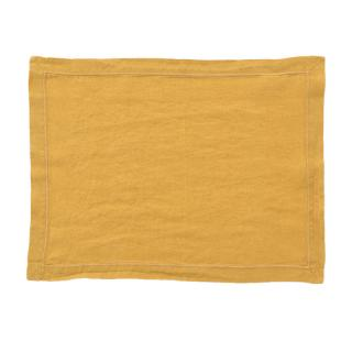 LINEN PLACEMAT BABYLOCK GOLD