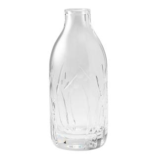 CUT CRYSTAL FIELD MILK BOTTLE