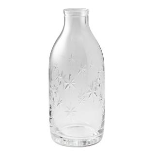 CUT CRYSTAL CONSTELLATION MILK BOTTLE
