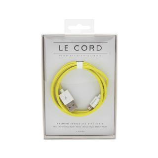 LE CORD SOLID YELLOW CABLE 1M