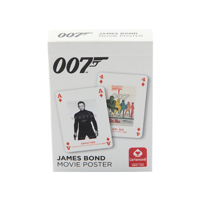 JAMES BOND POSTER PLAYING CARDS