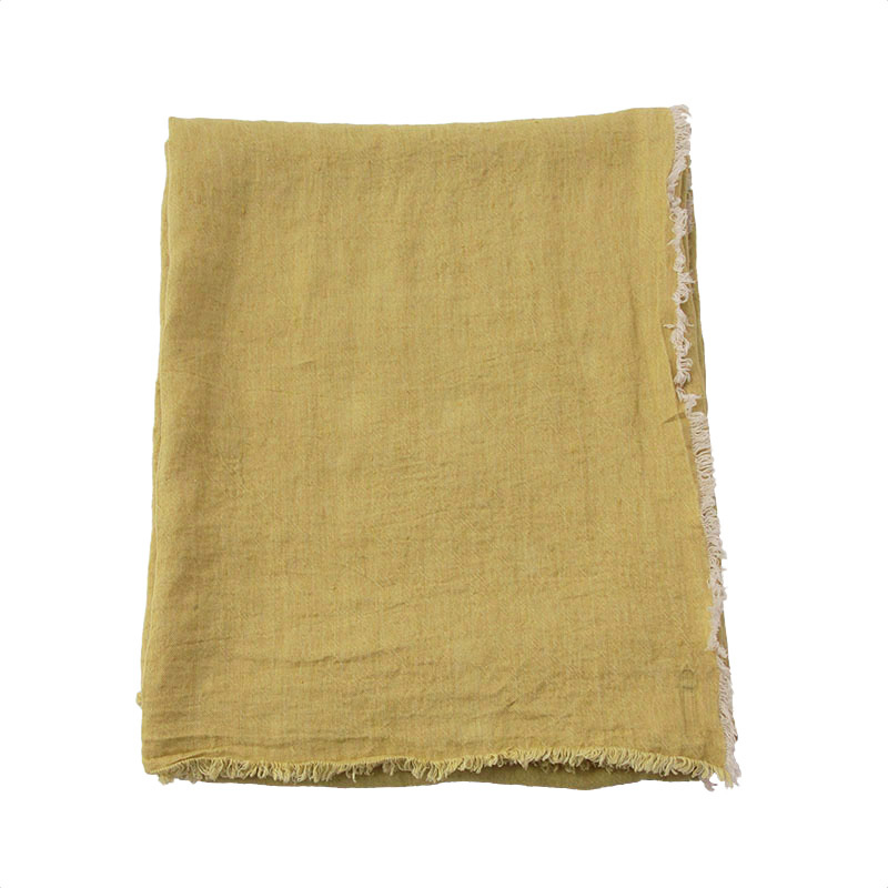 VICE VERSA LINEN  THROW STRAW