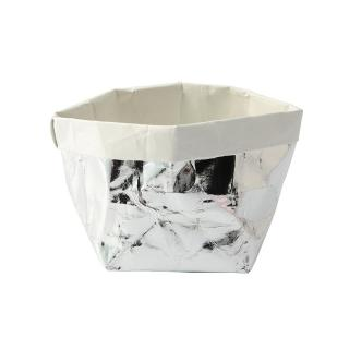 ESSENTIAL BASKET SILVER / WHITE SMALL