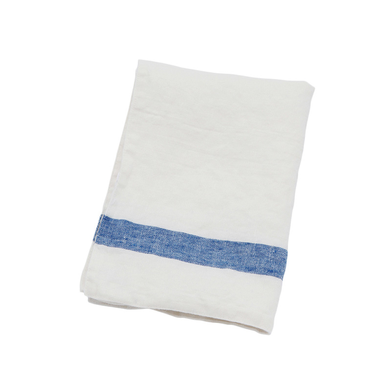 SELVEDGE STRIPE PLACEMAT WHITE / BLUE