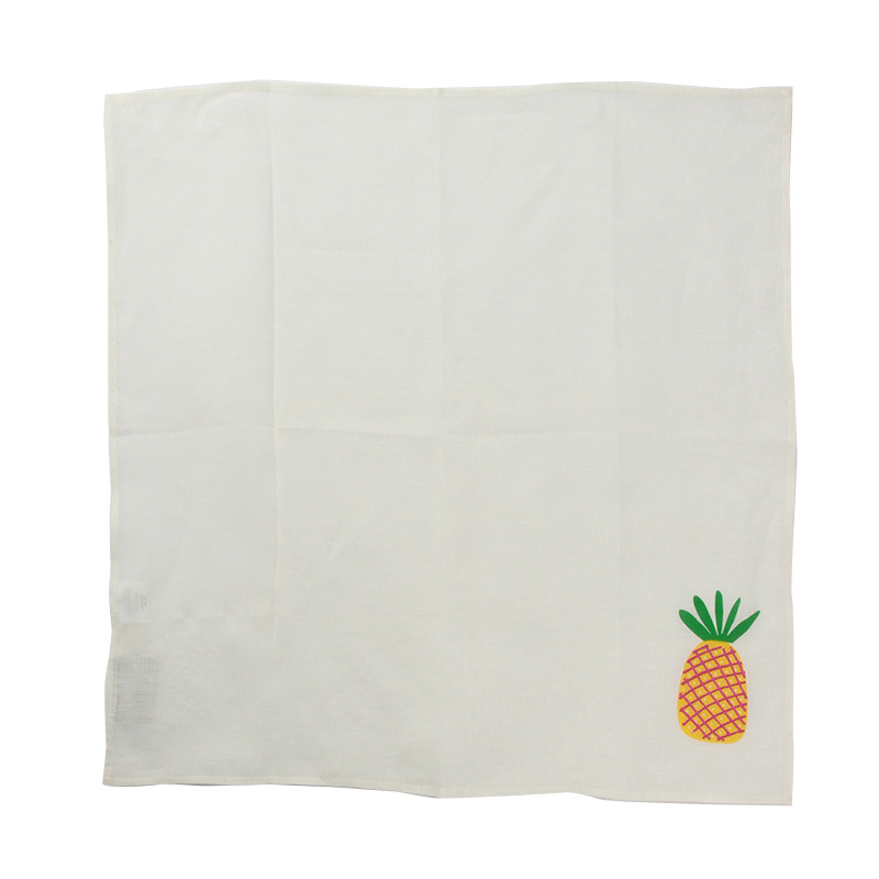PINEAPPLE BLOCK PRINT NAPKIN