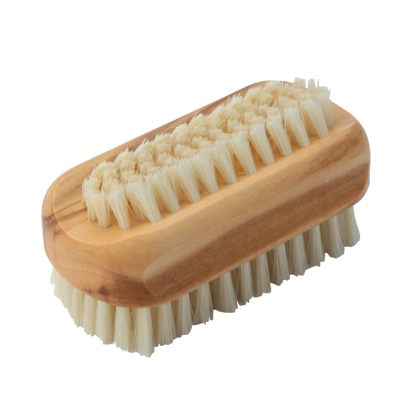 NAIL BRUSH OF OLIVE WOOD