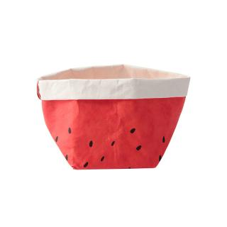 ESSENTIAL CONRAN PATTERN BASKET WATERMELON SMALL