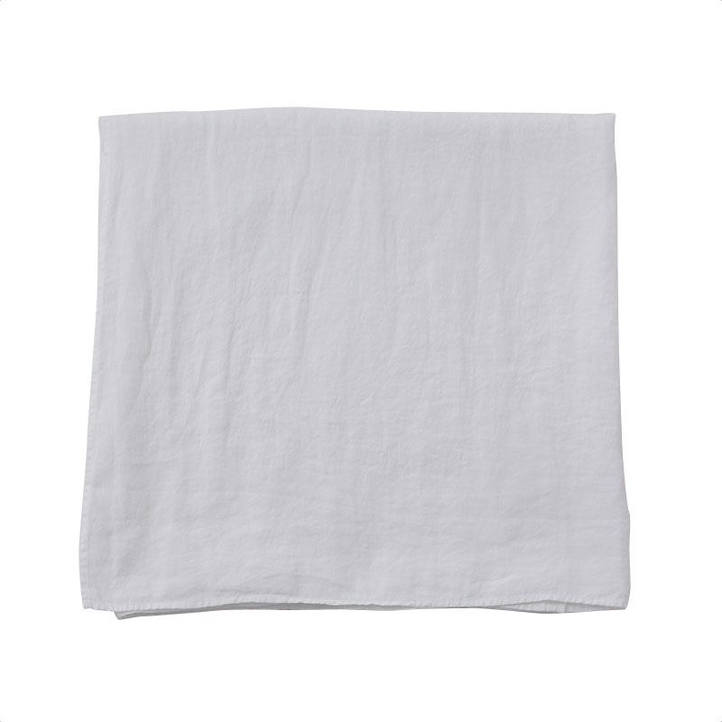 LINEN TABLE CLOTH WHITE