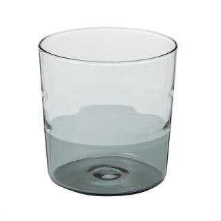 TUMBLER SMOKE BOTTOM CLEAR