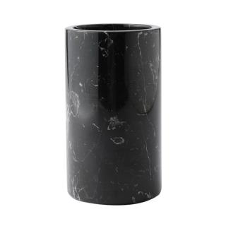 MARBLE UTENSIL POT BLACK