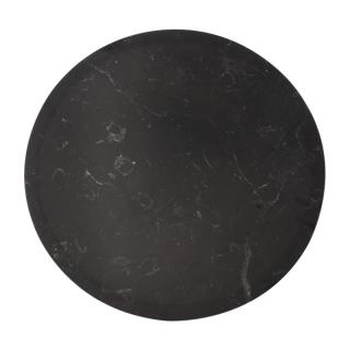 【CLEARANCE】 MARBLE ROUND MAT BLACK
