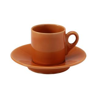 TINTA ORANGE ESPRESSO CUPSAUCER