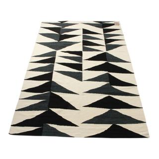 HANDMADE TRIANGLES WOOL KILIM