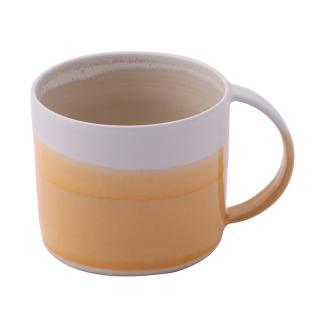 EMMA LACEY HIGH DIPPED MUG MANDARIN ORANGE