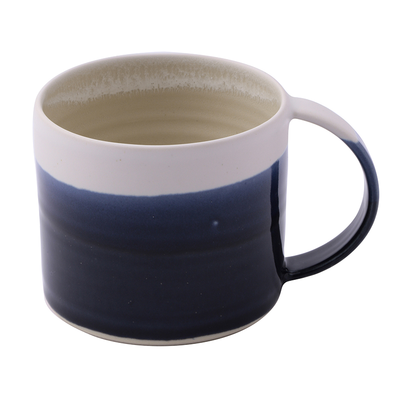 EMMA LACEY HIGH DIPPED MUG NAVY BLUE