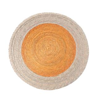 DOUBLE ROUND PLACEMAT CANELA / ARENA