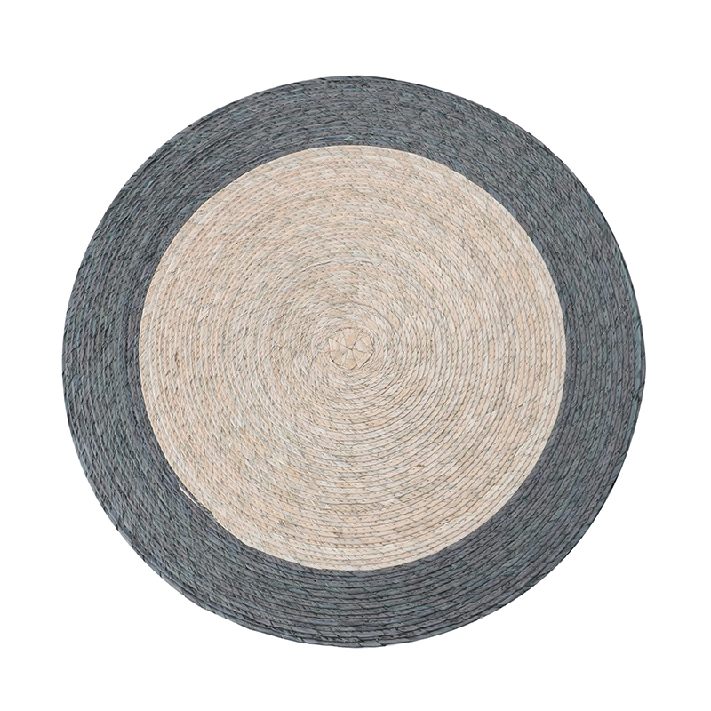 DOUBLE ROUND PLACEMAT ARENA / GREY