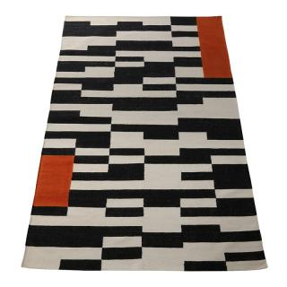CONTRAST EDGE BANEH KILIM 200X300 ORANGE