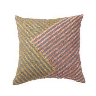RAFFIA LINES CUSHION COVER SOFT GREY