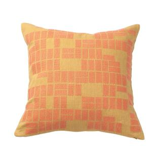 RECTANGLES CUSHION COVER NATURAL