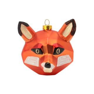 XMAS 16 CUBIST FOX HEAD