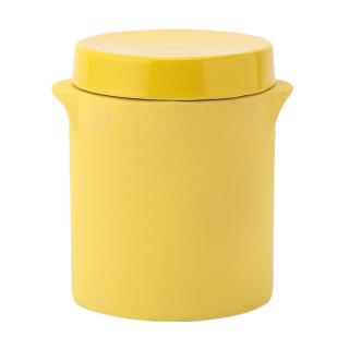 PRESERVE POT LRG YELLOW 12 X 15CM