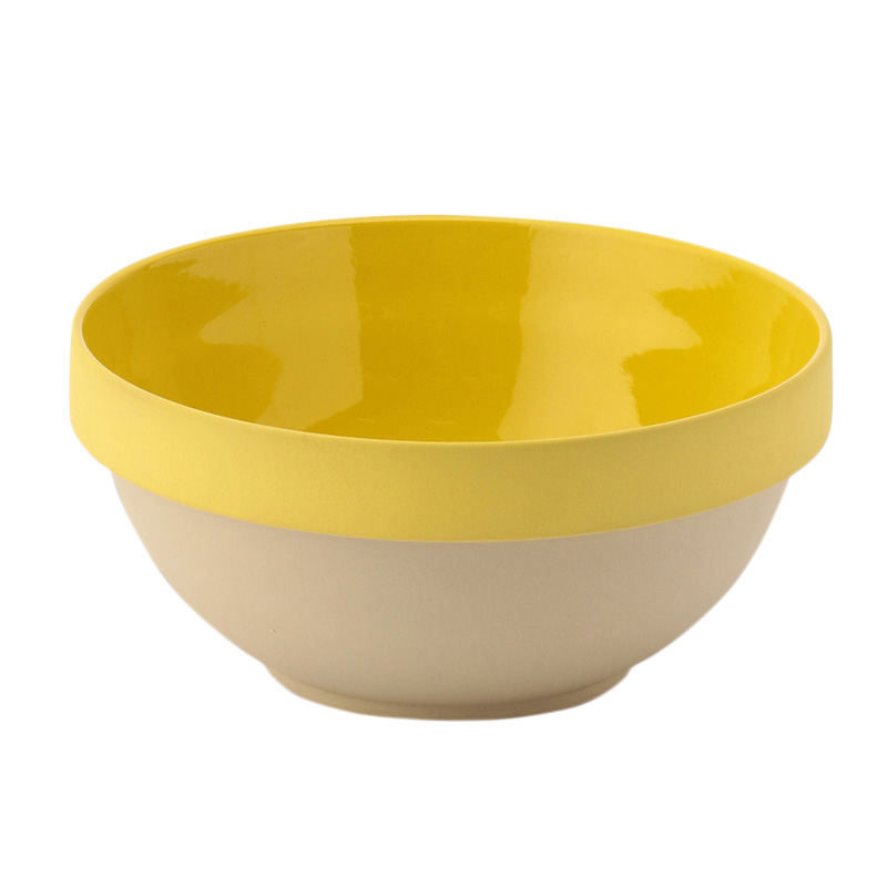 PARIS BOWL NO.14 YELLOW 29CM