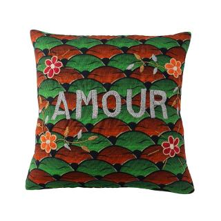 AFRICAN EMBROIDERED CC 45x45 AMOUR