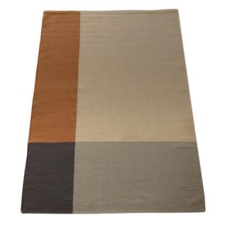 COLOUR BLOCK KILIM 170X240 SIENNA/GREY