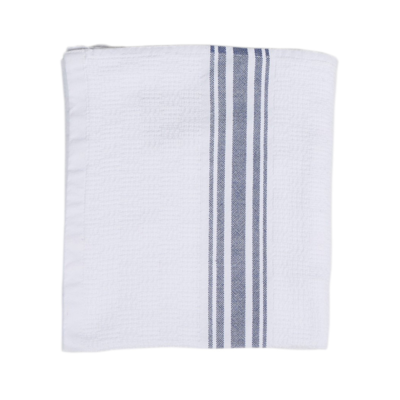 WILLOW STRIPE HAND TOWEL BLUE 50X90