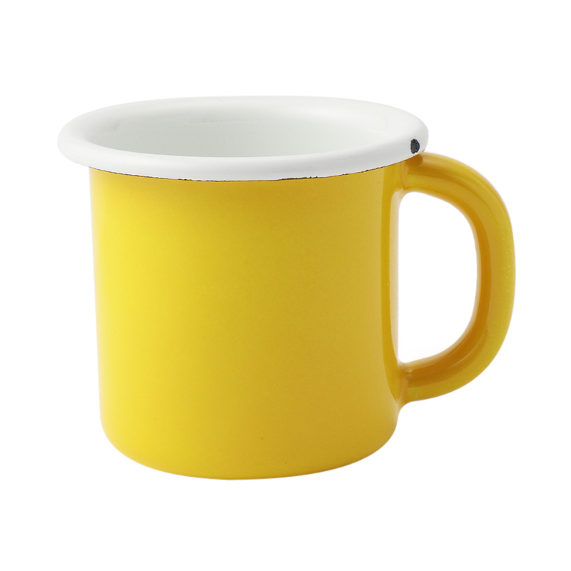 ENAMEL YELLOW MUG BASICS
