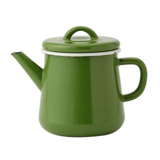 ENAMEL GREEN TEA POT BASICS