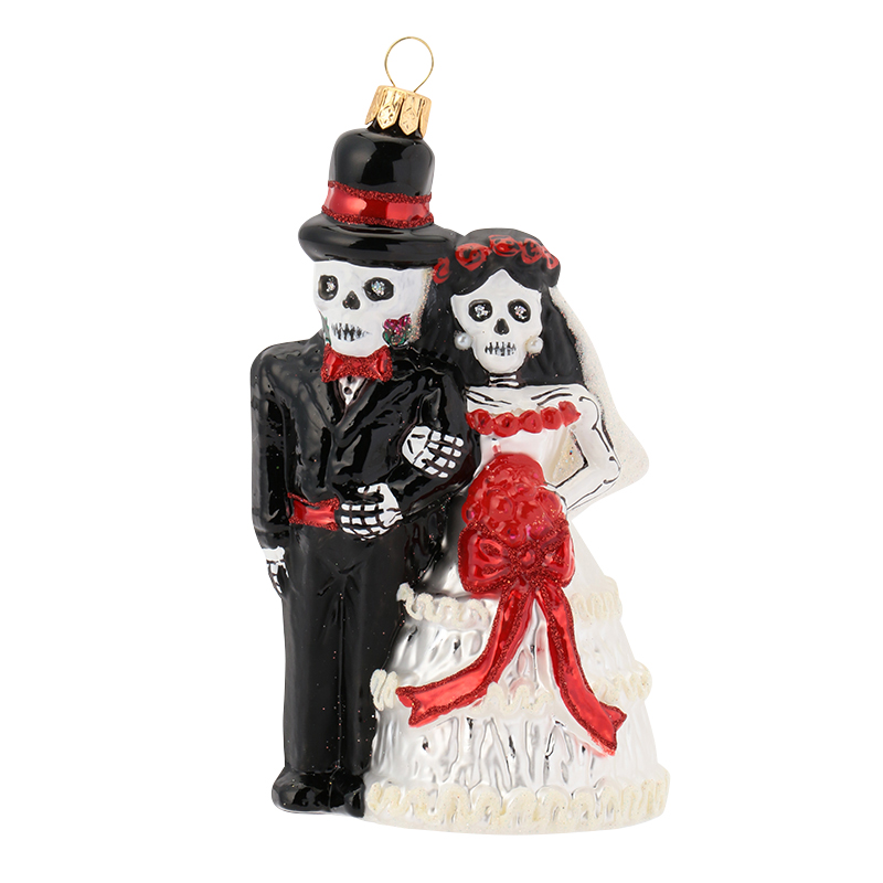 XMAS 17 DAY OF THE DEAD COUPLE 01001