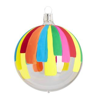 XMAS17 TRANSPARENT CONFETTI STRIPES 8CM