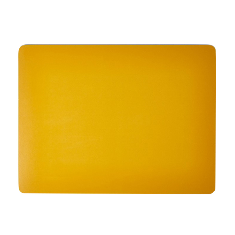 COLOURED PLACEMAT MUSTARD 28.5X22