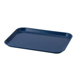 AMAZON BLUE MEDIUM RECT TRAY 27X35CM