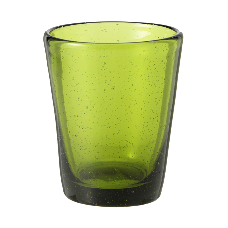 BUBBLE GLASS OLIVE