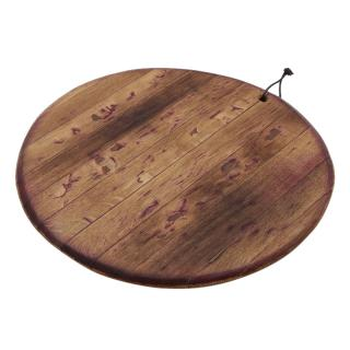 OAK BARREL TOP BOARD 60CM